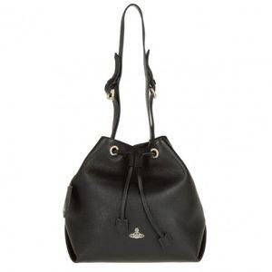 Rare Vivienne Westwood Croc Leather Bucket Bag